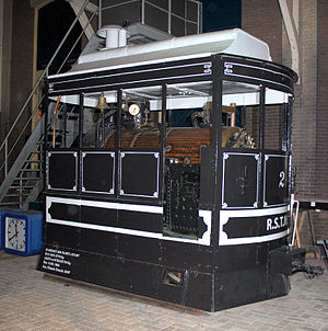 Merryweather & Sons - A 1881 Merryweather steam tram in the Dutch Railway Museum.