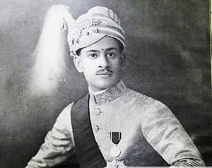 Chithira Thirunal Balarama Varma -  Maharaja Sree Chithira Thirunal after his investiture ceremony in 1931