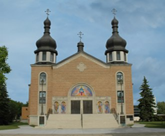 Ukrainian Orthodox Eparchy of Western Canada - St. John Cathedral (Edmonton) is the primary seat of the Archbishop of Edmonton and Western Canada.