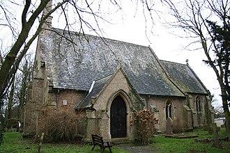 Saleby - Image: St.Margaret's church, Saleby, Lincs. geograph.org.uk 108131