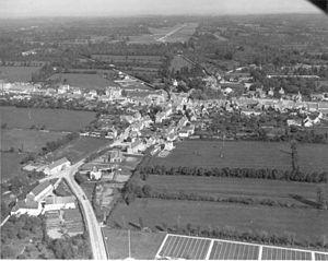 Sainte-Mère-Église - The village in 1944