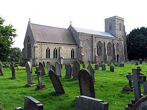 Hevingham - Image: St Botolph, Hevingham, Norfolk geograph.org.uk 317204