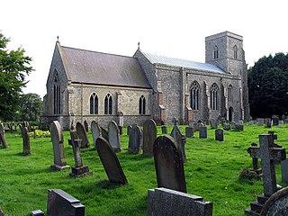 Hevingham Human settlement in England