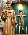 St Francis of Assisi at St Thomas Aquinas Cathedral in Reno NV USA.jpg
