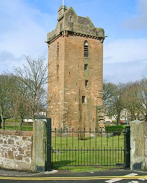 Ayr - St John's Tower