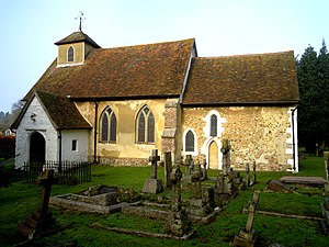 Church of St Mary, Letchworth - Church of St Mary the Virgin in Letchworth