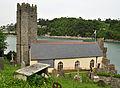 St Petrox Church, Dartmouth from above.jpg