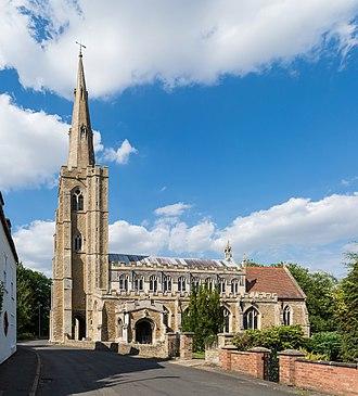 March, Cambridgeshire - St Wendreda's Church