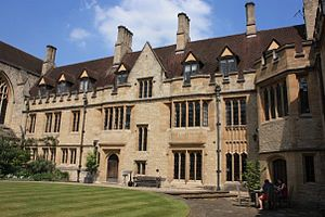 St Cross College, Oxford - Blackwell Quad