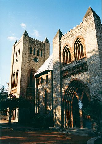 Likoma Island - St Peter's cathedral in Likoma town