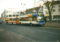 Stagecoach buses in Banbury, original and new corporate livery, 2004.png