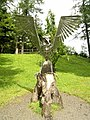 Stainless Steel Eagle at Whinlatter Visitor Centre - geograph.org.uk - 511349.jpg