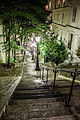 Stair in Montmartre, Paris 25 August 2013 002.jpg