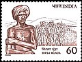 Stamp of India - 1988 - Colnect 165274 - Birsa Munda.jpeg