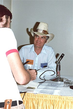Stan Lynde - Stan Lynde at the 1982 San Diego Comic Con (a.k.a. Comic-Con International)
