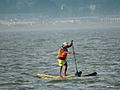 Standup paddle or Paddleboarding activity in Lake Kolavai.jpg