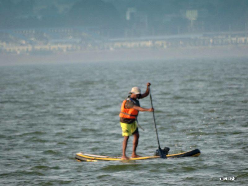File:Standup paddle or Paddleboarding activity in Lake Kolavai.jpg