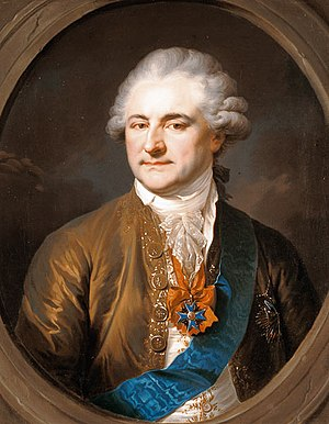 Constitution of May 3, 1791 - King Stanisław II August, principal author of the Constitution. A year later he acquiesced in its overthrow.