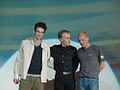 Star Wars Celebration II - Hayden Christensen, Anthony Daniels, and Nick Gillard (4878849390).jpg