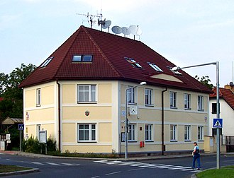 Dubeč - Dubeč town hall