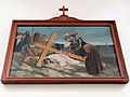 Station of the Cross in Saint Francis church in Warsaw - 09.jpg