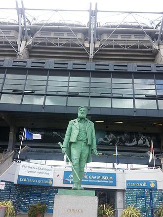 Clare GAA - Michael Cusack Statue at Croke Park