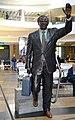 Statue of Oliver Reginald Tambo, OR Tambo International Airport Johannesburg.jpg