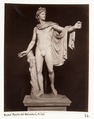 Staty av Apollo. Apollo di Belvedere - Hallwylska museet - 107533.tif