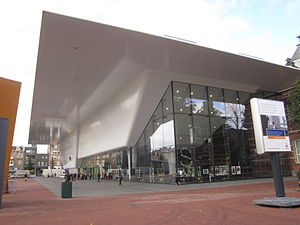 Stedelijk Museum Amsterdam - The entrance side of the museum in 2012