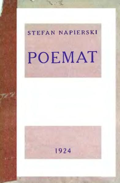 File:Stefan Napierski - Poemat.djvu