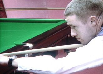Stephen Hendry - Hendry at the 2002 World Snooker Championship