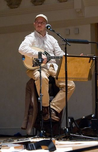 Stephin Merritt - Stephin Merritt at Cadogan Hall, London, July 2008.