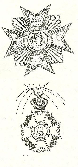 Military Karl-Friedrich Merit Order - Star and Grand Cross of the order