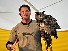 Steve with an owl.jpg