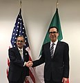 Steven Mnuchin and Giovanni Tria in April 2019.jpg