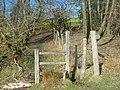 Stiles on the Wealdway near Claytons Wood - geograph.org.uk - 1735485.jpg