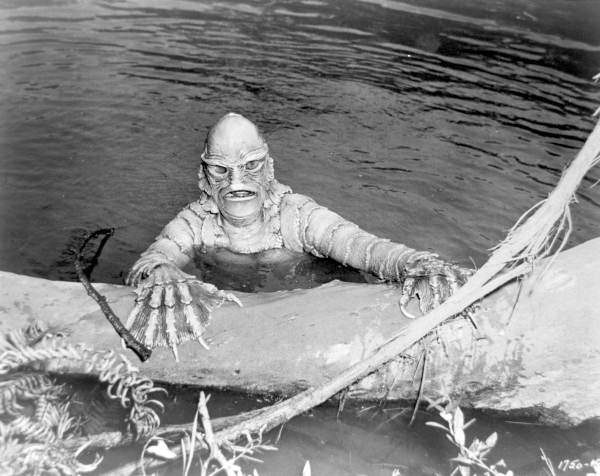 Still from the Creature from the Black Lagoon (15666911261)