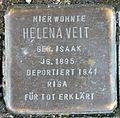 Stumbling block for Helena Veit (Poststrasse 17)