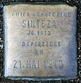 Stolperstein-Sinteza Jg 1913-Koeln-cc-by-denis-apel.jpg