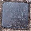 Stolperstein Dahn Weißenburgerstraße 2 Julius Levy.jpg