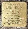 Stolperstein Finowstr 27 (Neukö) Senni Jenny Singer.jpg