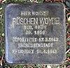 Stolperstein Markgrafenstr 22 (Frohn) Röschen Woyde.jpg