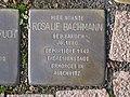 Stolperstein Rosalie Bachmann, 1, Brunnenallee 29, Bad Wildungen, Landkreis Waldeck-Frankenberg.jpg