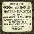 Stolperstein Verden - Walther von Seydlitz-Kurzbach (1888).jpg