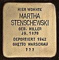 Stolperstein für Martha Stenschewski (Cottbus).jpg