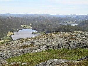 Fosen - Fosen landscape view; Åfjord.