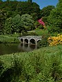 Stourhead Gardens in the spring - geograph.org.uk - 65786.jpg