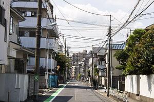 Shin-Koiwa - Residential street in Shinkoiwa