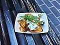 Street taters, twice fried Kennebec potatoes, habanero chile, smoked salmon, creme fraiche, chives.jpg