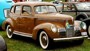 Virgil Exner - Studebaker Champion G 4-door sedan, 1939